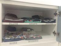 La roba sempre organitzada